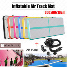 AIR TRACK GYMNASTICS TUMBLING MAT Inflatable Home Tumbling Track Mats Pads GYM