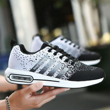 2018 Men's Athletic Sneakers Outdoor Sports Running Casual  Breathable Shoes New