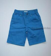 Gymboree Dino Day Camp Bright Blue Denim Jean Shorts Boys 18-24 month 3T NEW NWT