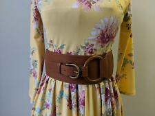 Buckle Belt - Camel wrap belt cinch belt vegan leather corset belt Buckle