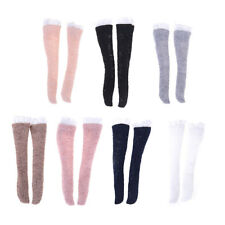 1 Pair Lace Socks Mixed Style Long Stockings For Barbie Doll Accessoriesdaf