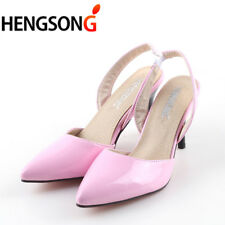Sexy Pointed Toe Women Pumps Patent Leahter High Heels Pumps Ladies Wedding
