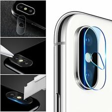 1 2PCS For iPhone X Mini Full Cover Camera Lens Tempered Glass Screen Protector