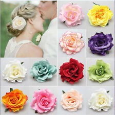 1pcs New Rose Flower Bridal Hair Clip Hairpin Bridesmaid Women Wedding Party