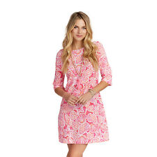Hatley Women's Fiona Dress Fuchsia St. Barts