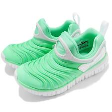 Nike Dynamo Free PS Green Glow White Preschool Kids Junior Shoes 343738-309