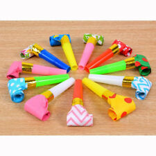 10PCS Small Party Blowouts Whistles Kids Birthday Party Favors Decor Noicemaker