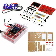 "DSO138 2.4"" TFT Digital Oscilloscope Soldered Acrylic Case DIY Kit Module"
