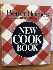 Better Homes And Gardens New Cookbook 1981