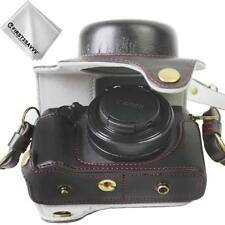 PU leather digital camera case bag cover for Canon PowerShot G1 X Mark III