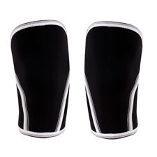 7mm Neoprene Compression Sleeves Sports Gym Weightlifting Knee Brace Support