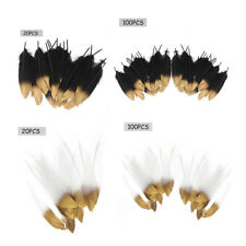 20/100Pcs Real Natural Goose Feather DIY Craft Wedding Home Party Decoration