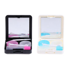 Outdoor Travel Kit Contact Lens Case Soaking Storage Box Container Holder