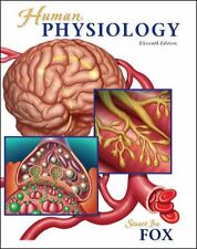 Human Physiology 11th Edition by Stuart Fox 2009, Hardcover