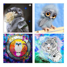 Cat Owl Tiger Partial Resin Diamond Painting DIY Cross Stitch Wall Home Decor Co