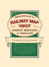 Bradshaw's Railway Folded Map 1907 by George Bradshaw Mixed media product Book
