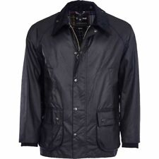 BARBOUR Hunting/Shooting/Equestrian Bedale Sylkoil Waxed Cotton Jacket Black