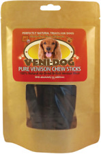 Petcor Veni Dog Pure Venison Meat Chew Sticks 10 x 75g Treats Air Dried