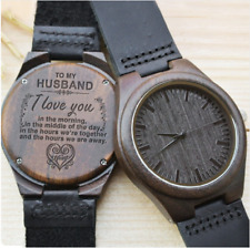 Wood Watch Gift - for Husband - for Wife - for Son - for daughter, FREE SHIPPING