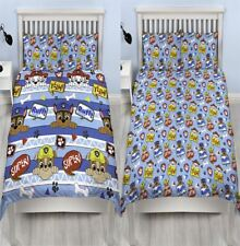 Paw Patrol Peek Rotary Double Bedding Childrens Duvet Quilt Cover Pillowcase Set