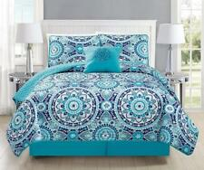 Fancy Collection 5pc King Size Quilted Bedspread Coverlet Set Floral...