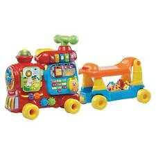 Vtech Sit to Stand Ultimate Alphabet Train -MISSING WAGON & BLOCKS