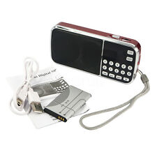 New Portable HIFI Mini Multifunctional Digital MP3 Radio Speaker USB TF FM Radio
