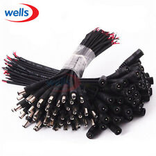 5/10pcs 5.5x2.1 Plug DC male or Female  Cable Wire Connector For 3528  5050 LED