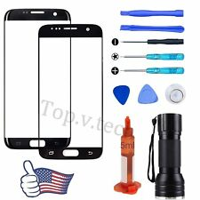 For Samsung Galaxy S7 Edge S7 Front Outer Screen Replacement Glass Lens Tool Kit