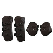 Equestrian Horse Leg Guard Boots Front Hind Back Leg Wraps Support Tendon