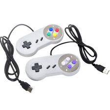 USB Retro Super Controller For SF SNES PC Windows Mac Game Accessorie  AL