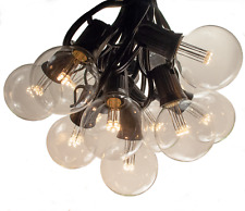 G50 LED Warm White Outdoor Globe Patio String Lights (100', 50' and 25' Lengths)