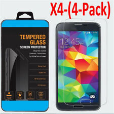 2/4x Tempered Glass Protective Screen Protector Film for Samsung Galaxy S5 S6BSC