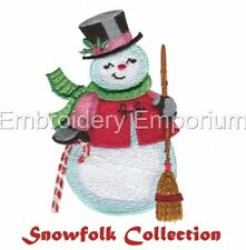 SNOWFOLK COLLECTION - MACHINE EMBROIDERY DESIGNS ON CD OR USB