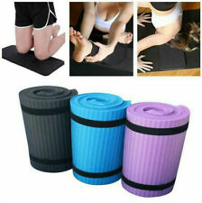 15mm Portable Non-Slip Thick Yoga Mat Gym Exercise Fitness Pilates Mat Auxiliary