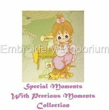 SPECIAL MOMENTS WITH PRECIOUS MOMENTS - MACHINE EMBROIDERY DESIGNS ON CD OR USB