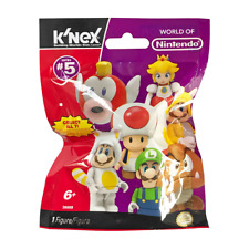 New 1 3 5 10 Or 24 K'nex Super Mario Series 5 Mystery Blind Bag Figure Official