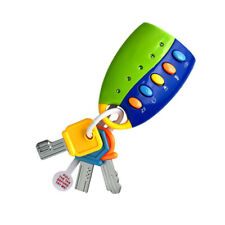 Simulation Smart Remote Car Key Baby Toy Pretend Play Set Touch Phone AWQ