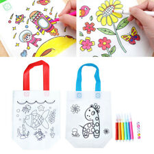 DIY Color Your Own Bag Kit for Boys Girls Arts & Crafts Set with BPA-Free