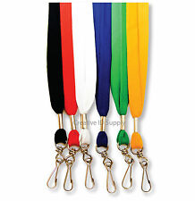 "36"" NECK LANYARD FLAT W/SWIVEL HOOK FOR ID BADGE HOLDER"