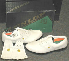 Adult Mens Golf Golfing Shoes Cleats Spikes Footwear Dunlop Classic Saddle