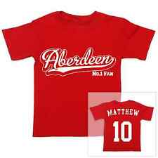 ABERDEEN Football Personalised Baby/Child T-Shirt