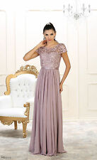 PLUS SIZE MOTHER of the BRIDE DRESS FORMAL EVENING GOWN