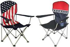 Patriotic Collapsible Camping Chairs