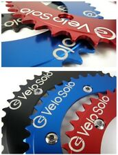 "VS CNC Singlespeed Road Track Fixed CHAINRING 1/8"" 44 single speed LARGE LOGO"