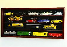 O scale Model Train Display Case Cabinet Wall Rack Box