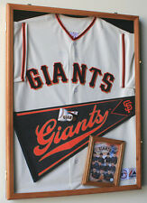 MLB Baseball Jersey Display Case Frame Wall Box Cabinet 98% UV Shadowbox