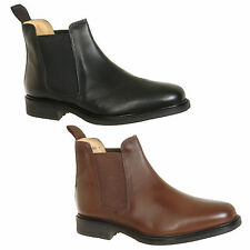 Mens Chelsea Boots Black / Brown Size 6 7 8 9 10 11 12