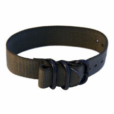 22mm Nylon Watch Band Tactical Strap PVD - MANY COLORS