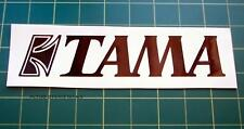 1 REPLACEMENT TAMA DRUM GRAPHIC DECAL STICKER 20cm
